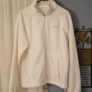 Columbia fleece full zip jacket
